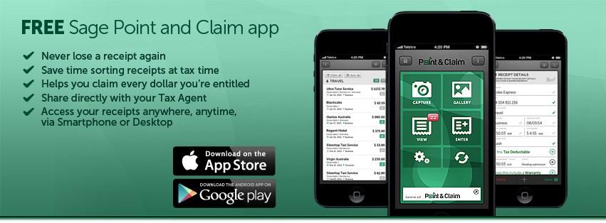 Sage Point & Claim App