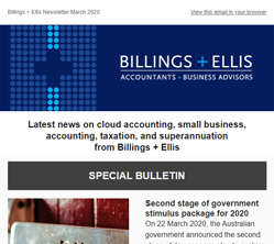 BE News March Special Bulletin