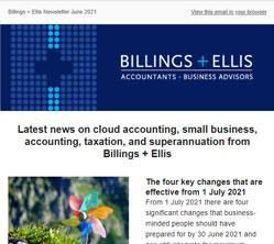 Billings _ Ellis Newsletter June 2021